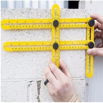 Four-sided Angle Ruler
